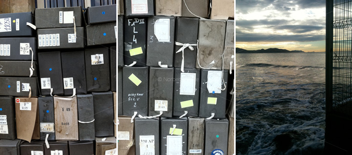 Lignes de fuite 10 - Le vecteur des archives - Norbert Hillaire