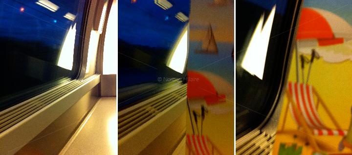 Lignes de fuite 13 - TGV rêverie - Norbert Hillaire