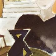 Série Maroc 11 - Sans titre, Peinture acrylique, (1984)