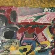 Série Distractions - Petite peinture, gouache sur papier (2005)
