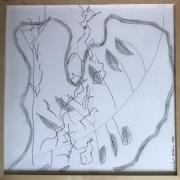 Série Distractions 3 - Sans titre, dessin, 2007